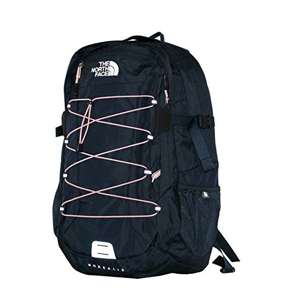 The North Face Women Classic Borealis Backpack Student School Bag (Urban  navy pink) c64f450111