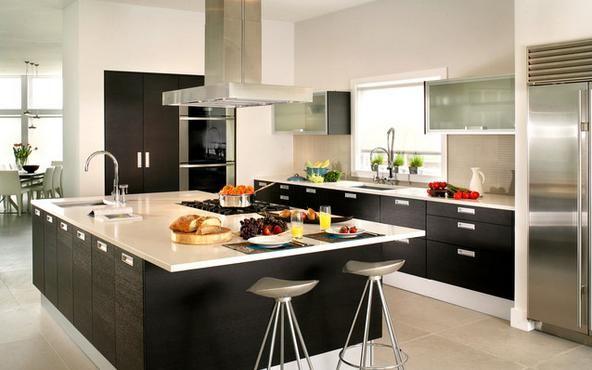 diseños de cocinas grandes - Buscar con Google | Cocinas
