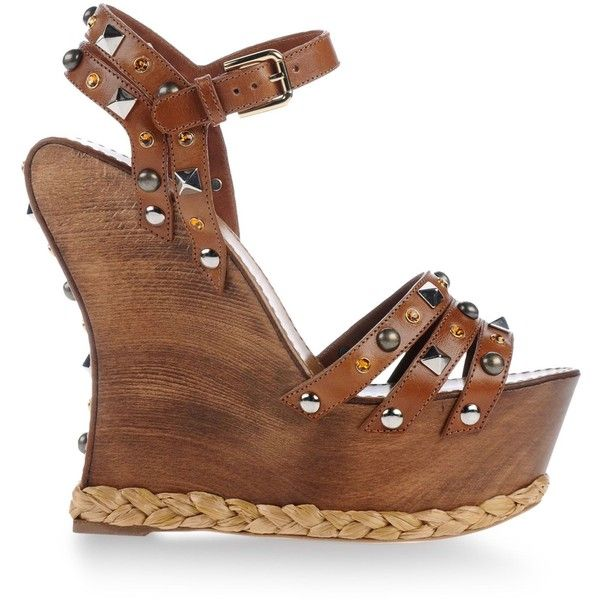 899c9a2feb37 Dolce   Gabbana Sandals (€535) ❤ liked on Polyvore featuring shoes ...