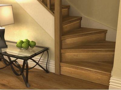 winder staircase oak - Google Search