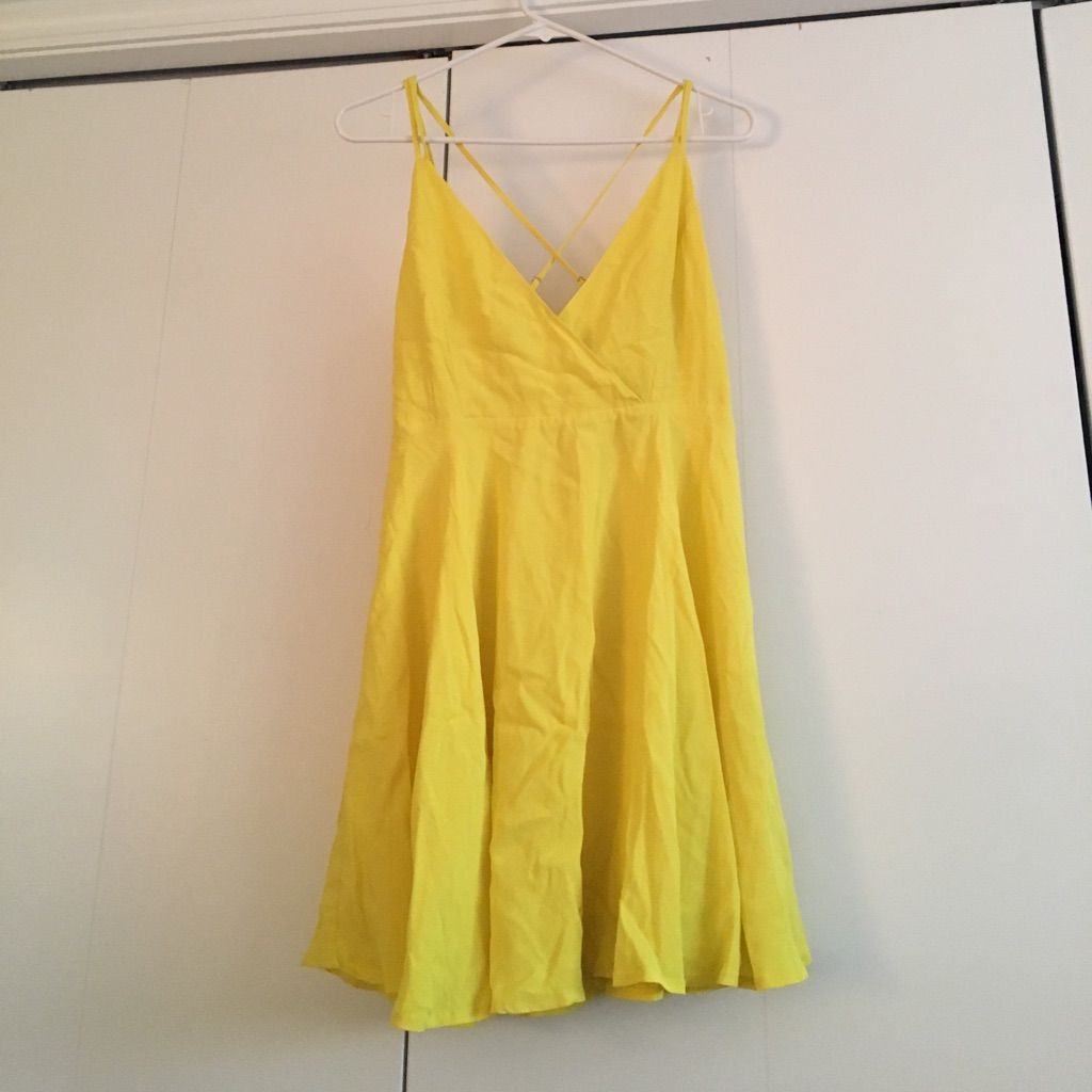 Forever 21 Yellow Dress