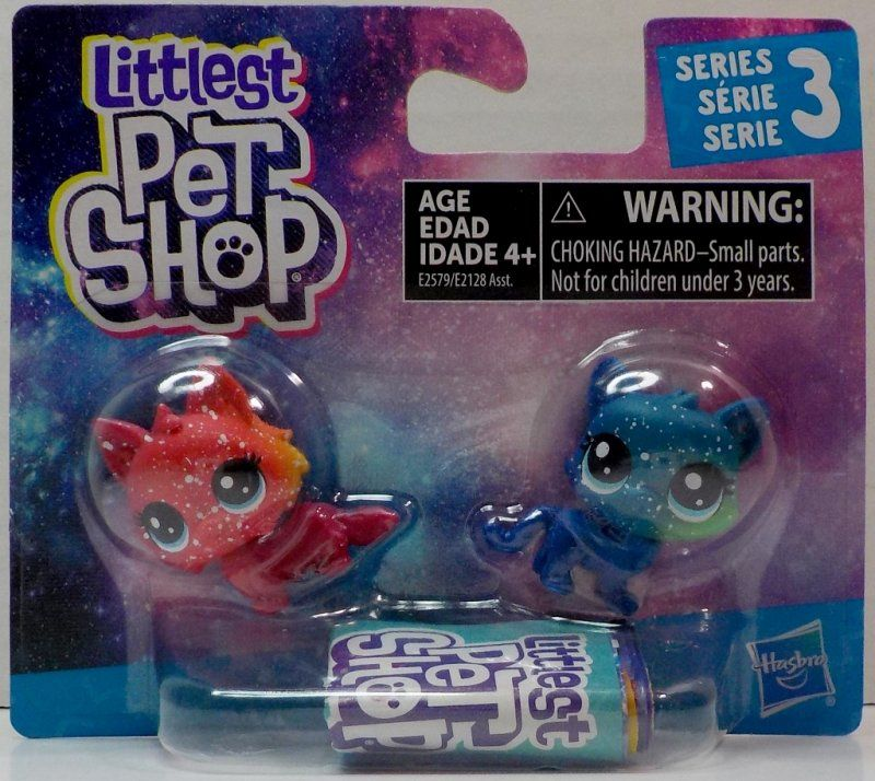 Littlest Pet Shop Meteora Siberia 3 5 And Asteroid Tortiecat 3 6 Cosmic Pounce Pet Shop Little Pet Shop Toys Pets For Sale