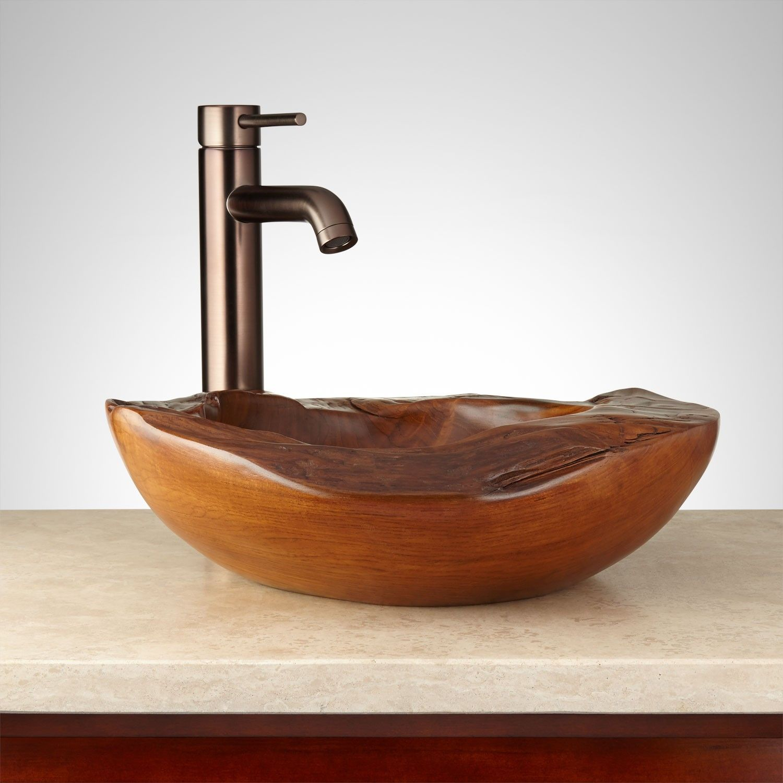 Chinn Teak Root Vessel Sink | Japanese Room | Pinterest | Vessel sink