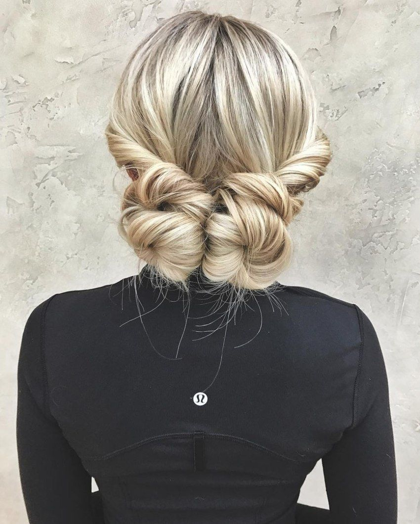 datenight hair ideas to capture all the attention low buns