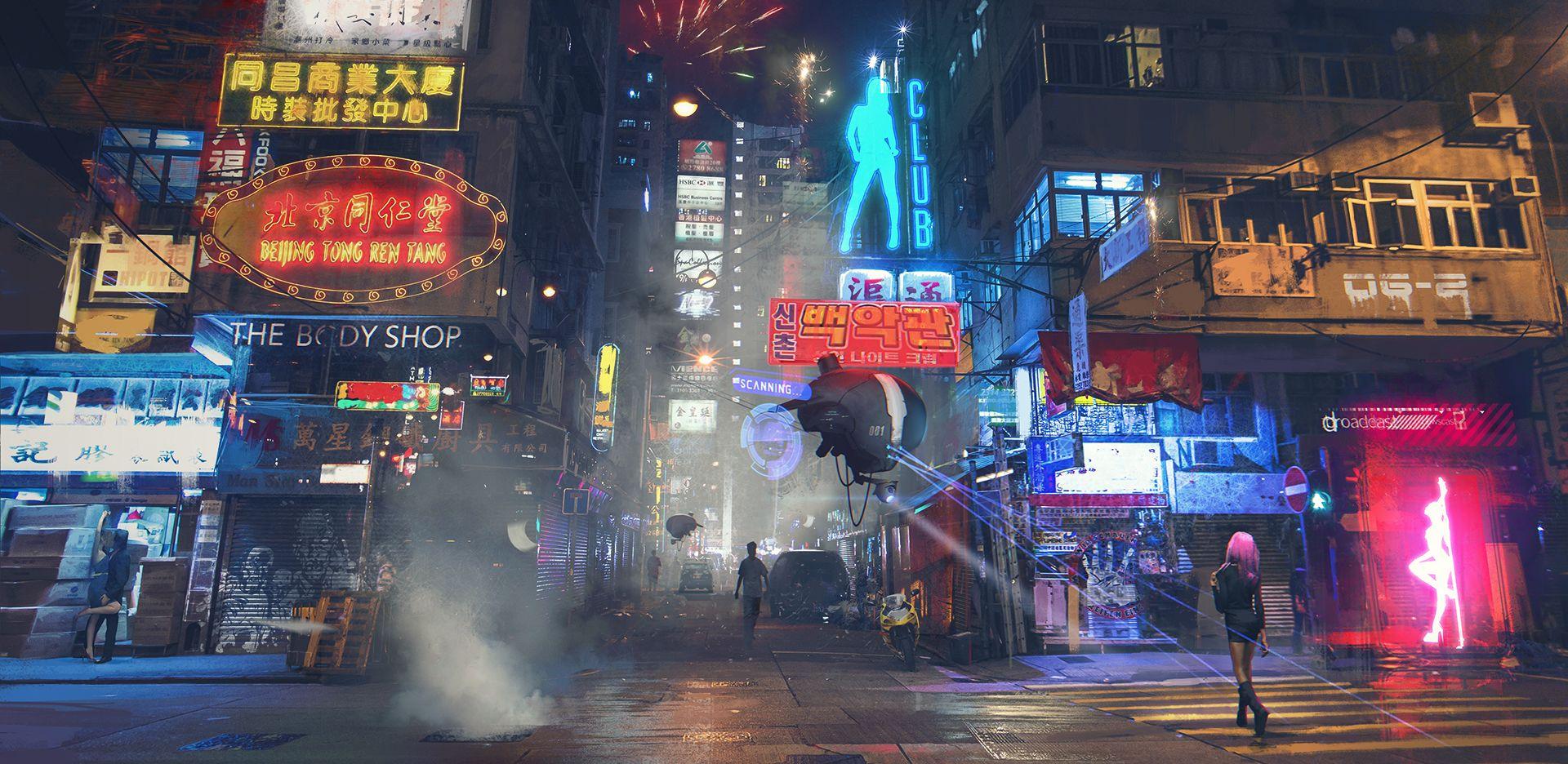 Neo Tokyo 1920x936 Futuristic City Cyberpunk Art Cyberpunk City