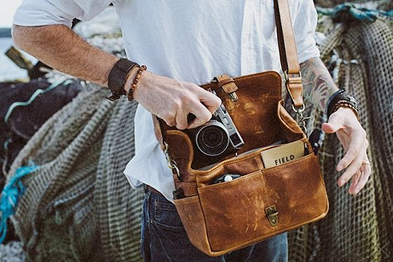 "Photo of ONA ""The Bowery"" Leather Camera Bag Review – by Neville Black – The Photo Brigade"