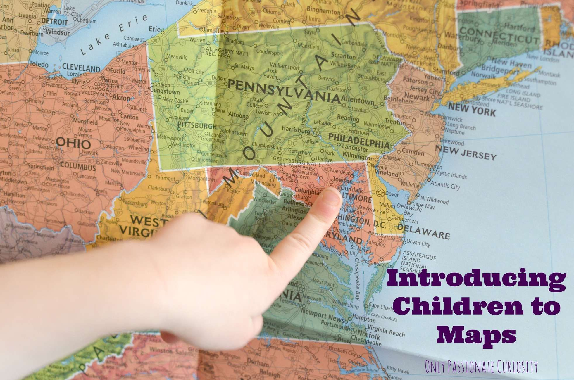 Introducing Children To Maps And Globes