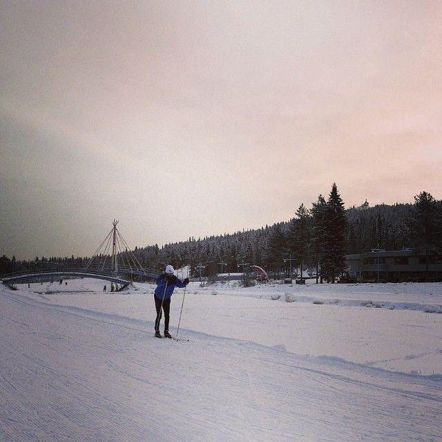 Hiihtokausi korkattu Rovaniemellä!