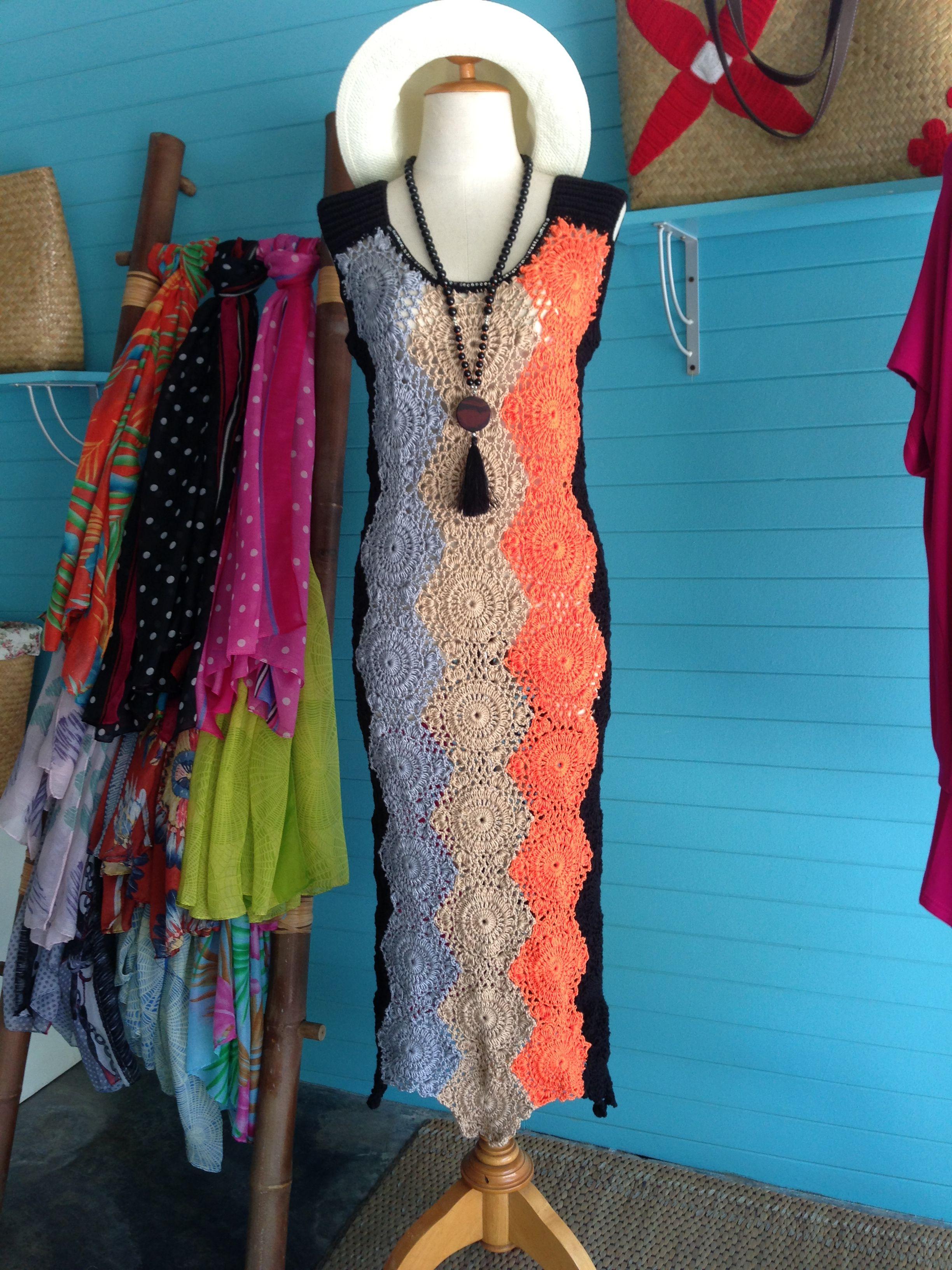 93a471bdf4e2 Crochet dress at La-Petite Shop