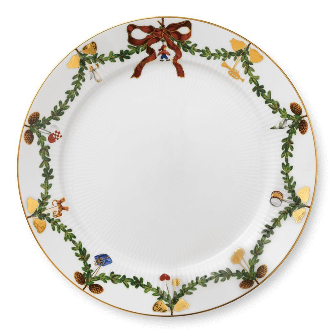 Photo of Star Fluted Christmas Plates