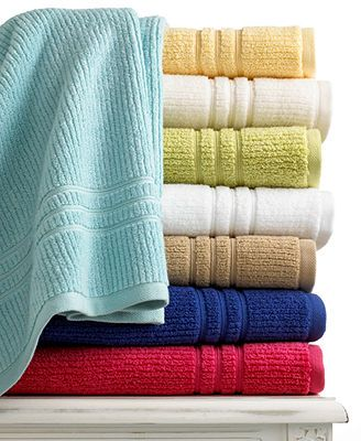 Martha Stewart Collection Bath Towels Quick Dry Collection