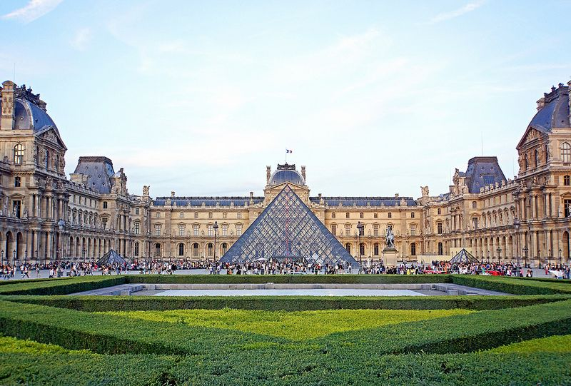 France-000192 - Louvre Museum France is one of the most geographically unique countries throughout Europe. The cities contain many of…