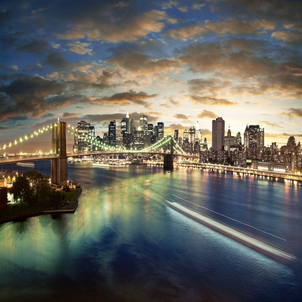 New York City Brooklyn Bridge #iPad #Air Wallpaper | Enter ...