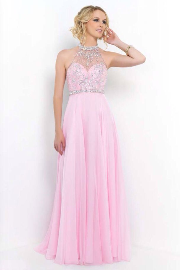 I really love this dress for the pretty pale pink colour and the amazing  diamanté detail. Backless Prom DressesProm ... f354c042784c