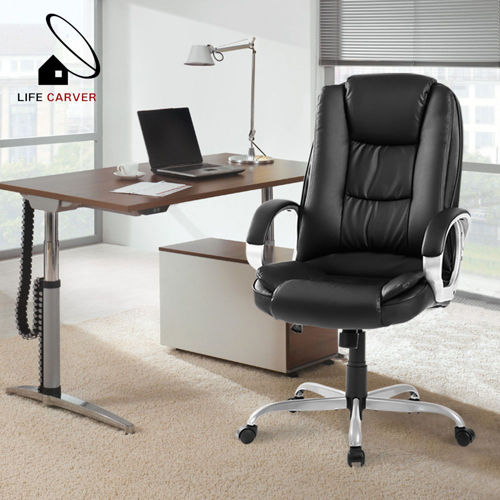 Life Carver Adjustable Office Chair Executive Chair Computer Swivel Chair Study Adjustable Office Chair Computer Desks For Home Chair