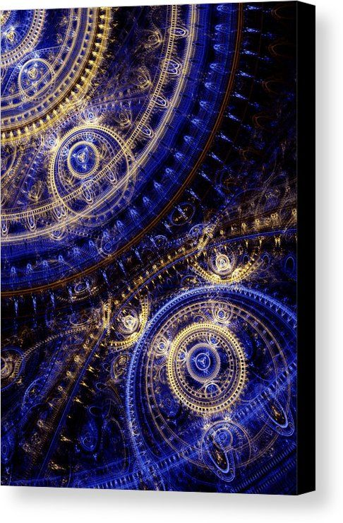 Gears Of Time Canvas Print / Canvas Art by Martin Capek