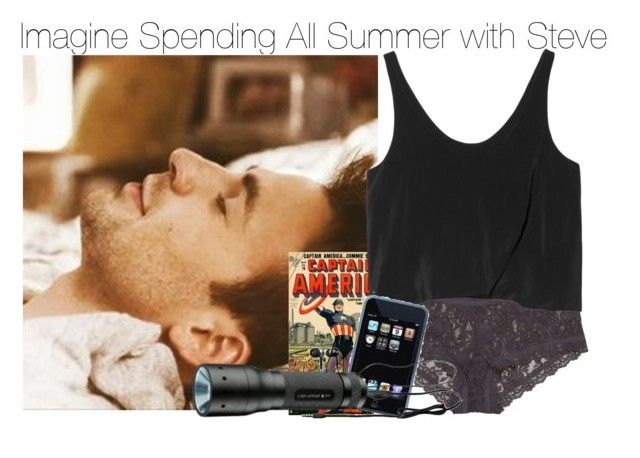 Imagine Spending All Summer with Steve by fandomimagineshere on Polyvore featuring polyvore fashion style 3.1 Phillip Lim Hanky Panky women's clothing women's fashion women female woman misses juniors