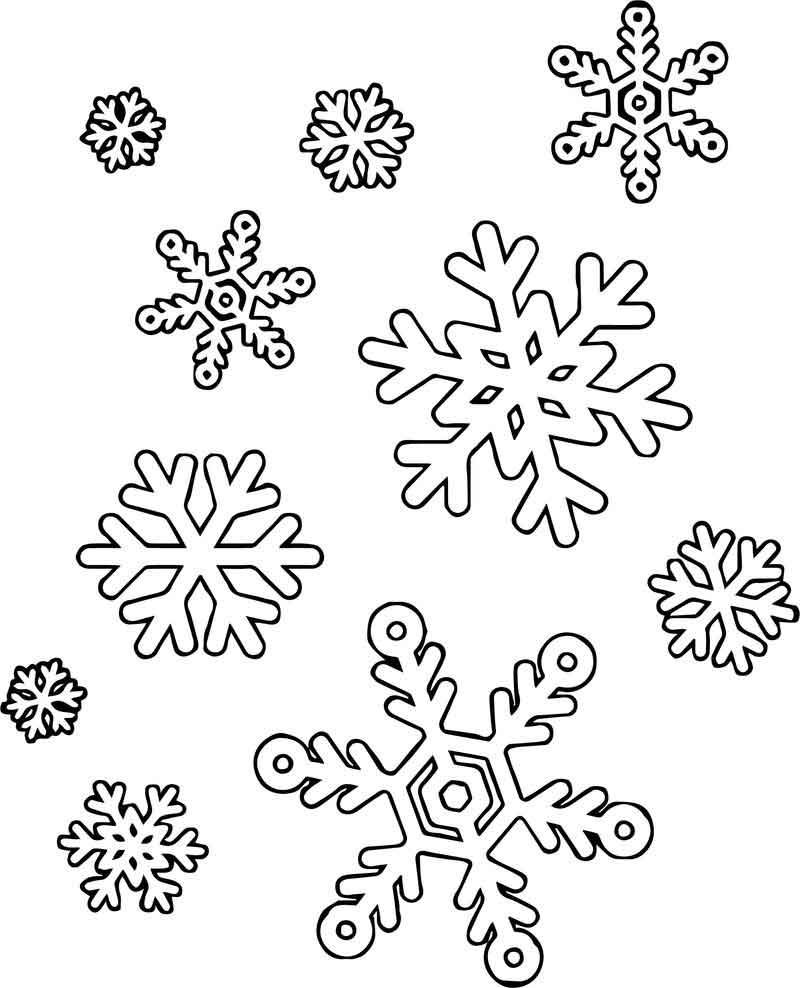 Much Snowflake Coloring Page In 2020 Snowflake Coloring Pages