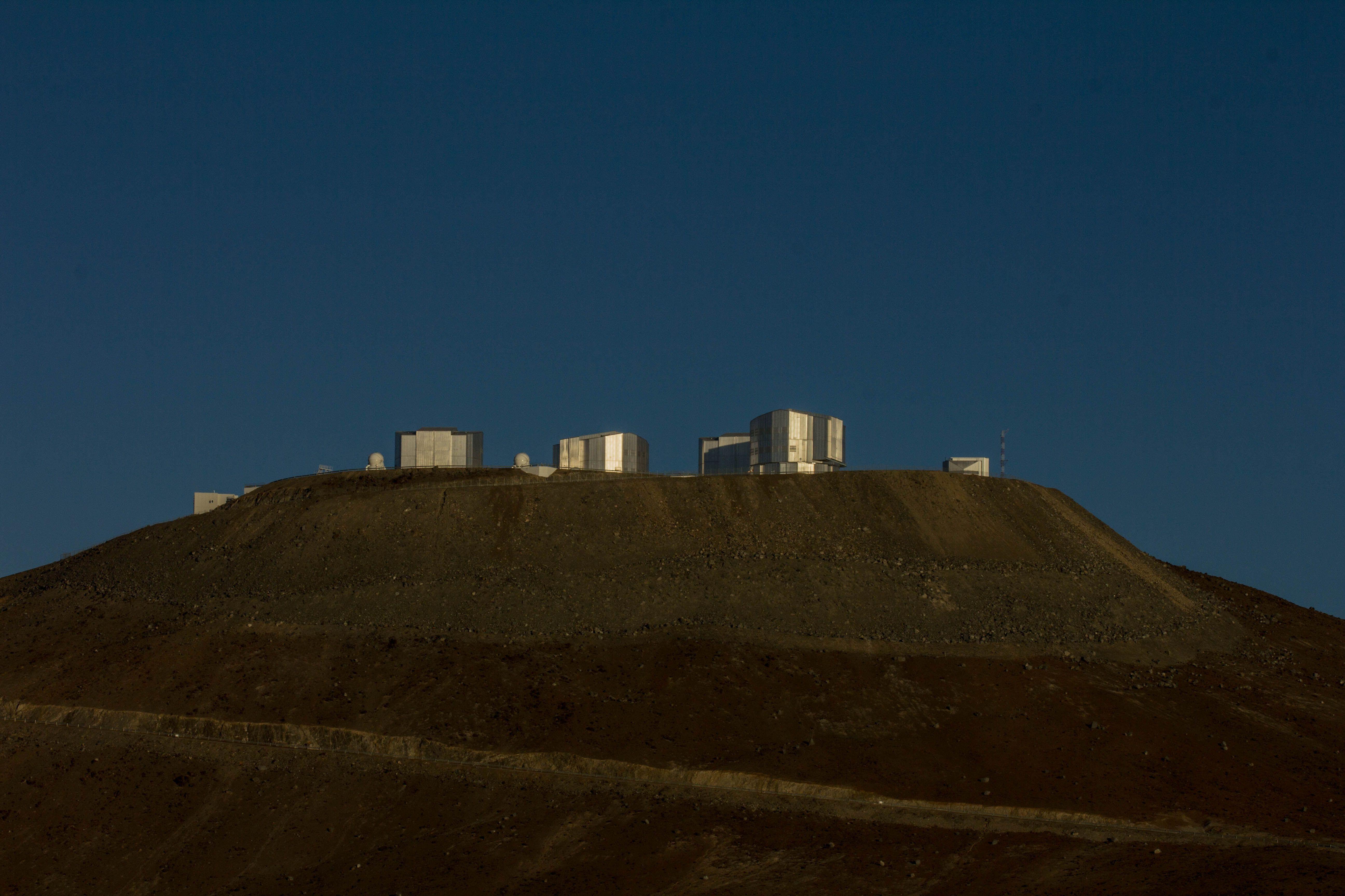 I 4 telescopi del Paranal