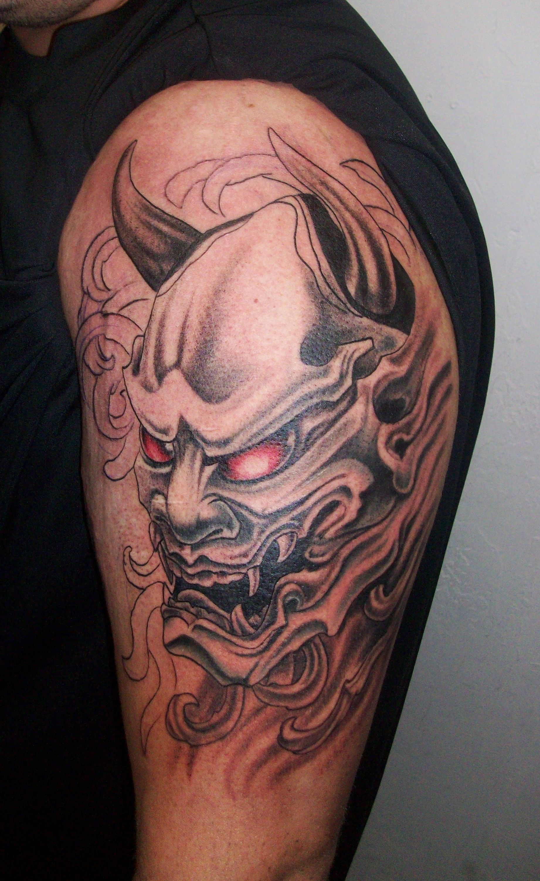 Japanese water demon the oni or horned demon http for Japanese tattoo