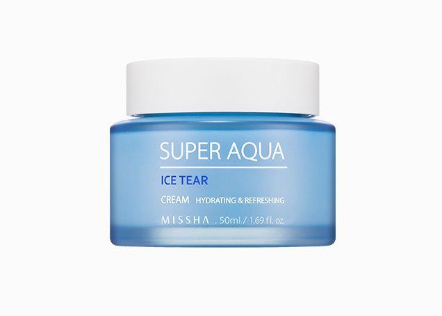 Super Aqua Ice Tear Cream Healthy Skin Cream Missha Oil Free Cream