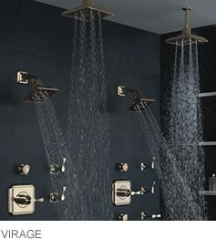 Virage shower system from Brizo