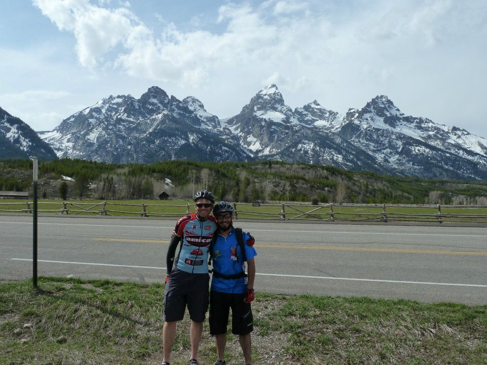 Biking in Grand Teton National Park