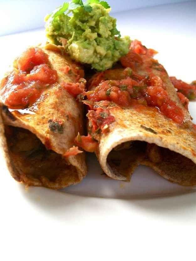 Enchiladas with Seitan
