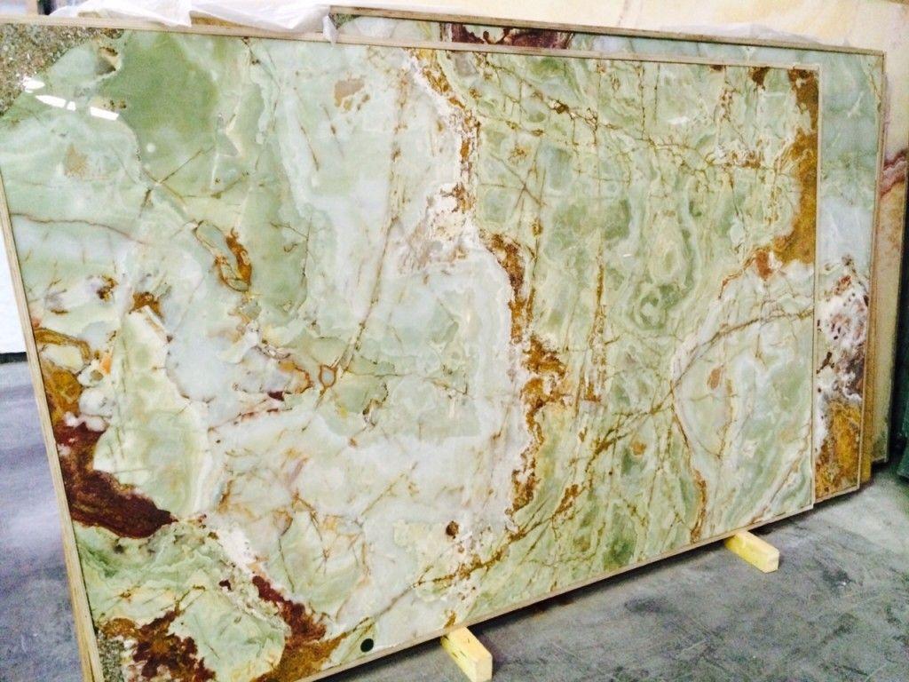 Fantastic Green Onyx Granite Countertops Colors Marble Price