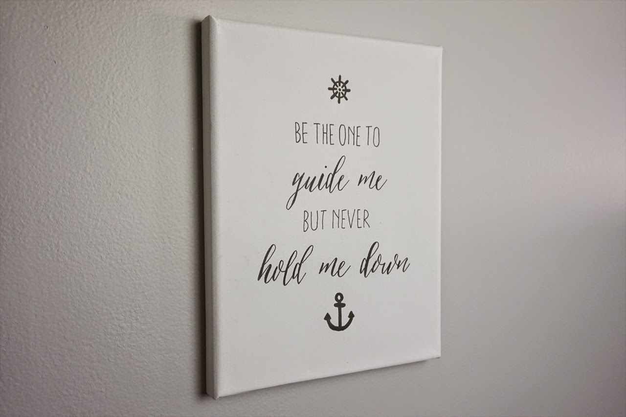 Thediydiary do it yourself quote canvas project ideas thediydiary do it yourself quote canvas solutioingenieria Images