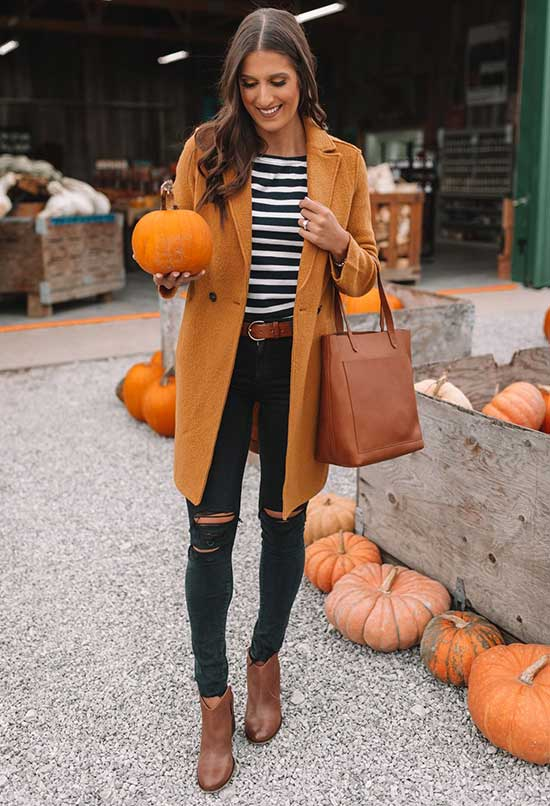 20+ Brown Boots Outfit Ideas to Look Fancy in Autumn ...