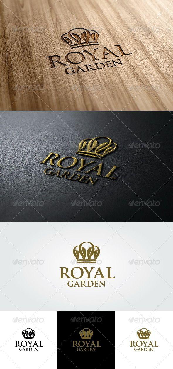 Royal Garden Logo Royal Garden Royal Logo Crown Logo