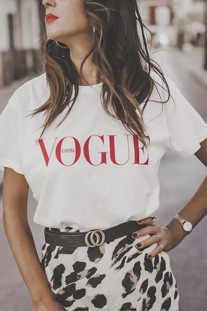 La camiseta de vogue mas deseada! | Camisetas gráficas