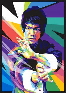 Bruce Lee | Displate thumbnail