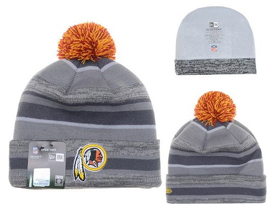 f6b9e30c NFL WASHINGTON REDSKINS BEANIES Fashion Knitted Cap Winter Hats Gray ...