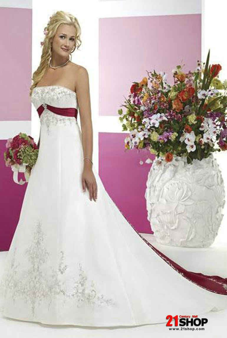 Red wedding dresses blue empire waist embroidery white and red red wedding dresses blue empire waist embroidery white and red wedding dress low price ombrellifo Images