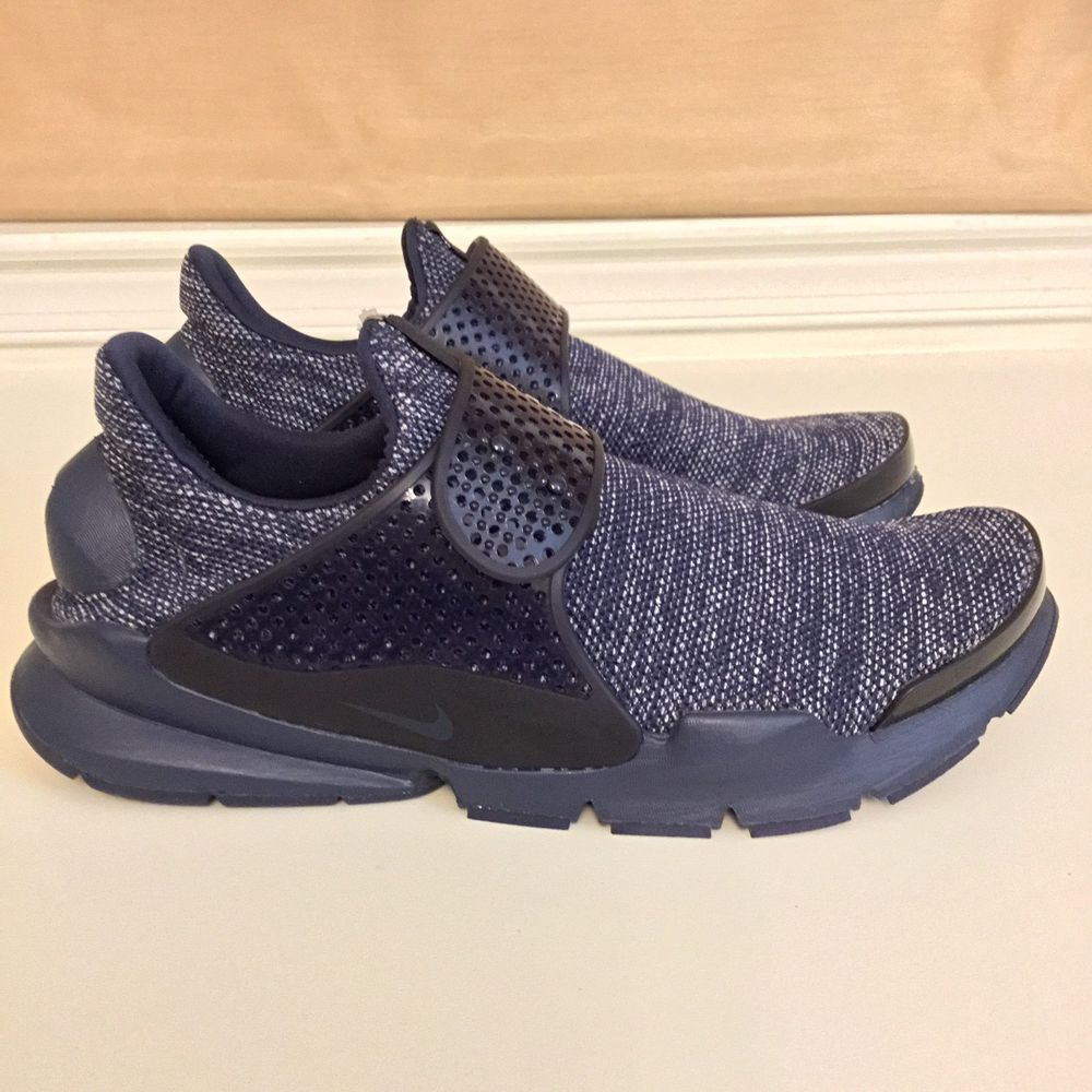 half off e0f22 82037 NIKE Sneakers Mens 12 Sock Dart BR Navy Blue Breathable Mesh Light NEW  NIKE   AthleticSneakers