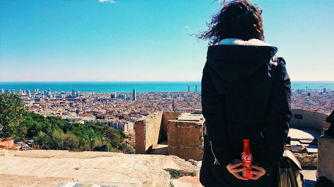 La ciudad a tus pies // Barcelona // #sienteelsabor @igersspain @cocacola_esp by migueltoribio