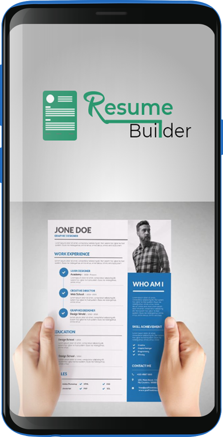 Resume Cv And Cover Letter Builder App With Admob Ads In 2020 Cover Letter Builder Resume Cv Resume