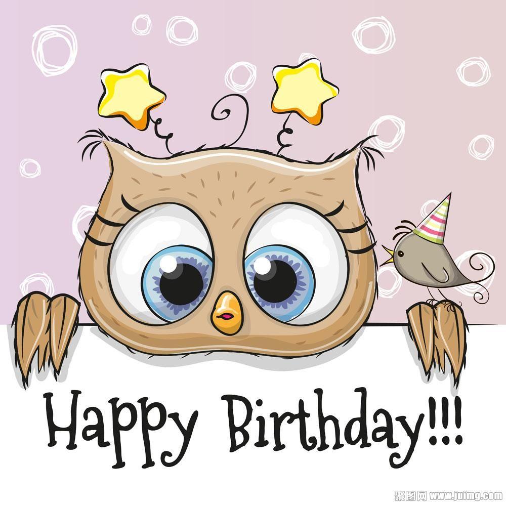 Happy Birthday Illustrations Pinterest Happy Birthday