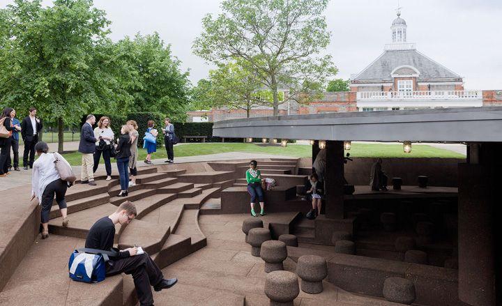 Serpentine Gallery Pavilion 2012, by Herzog & de Meuron and Ai Weiwei