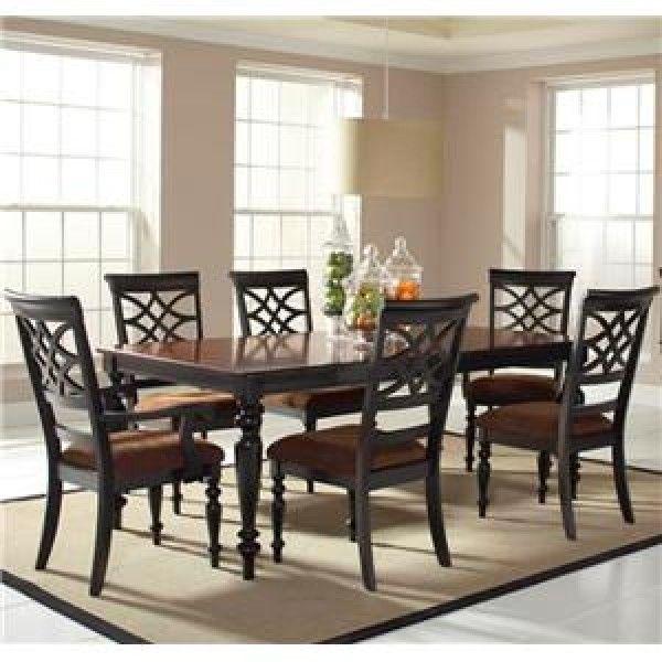 Room Standard Furniture Woodmont 7 Piece Rectangular Dining
