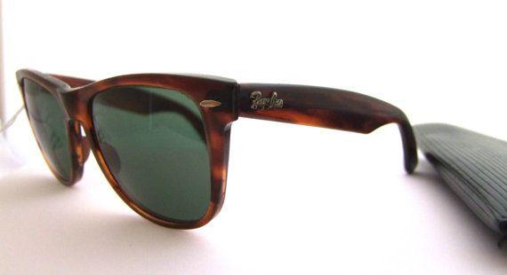 dfc459c75f RARE Ray Ban Wayfarer 2 Mock Tortoise Sunglasses by ifoundgallery, $165.00