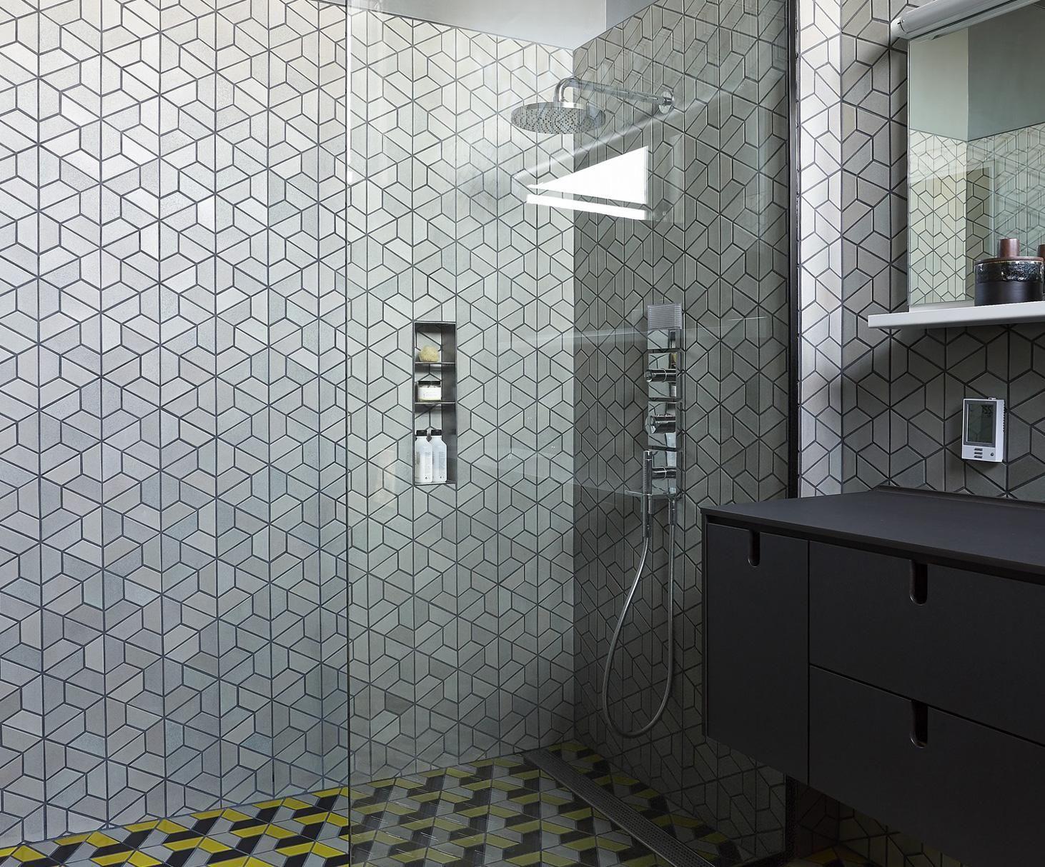 Installation Inspiration Heath Ceramics // Half hex