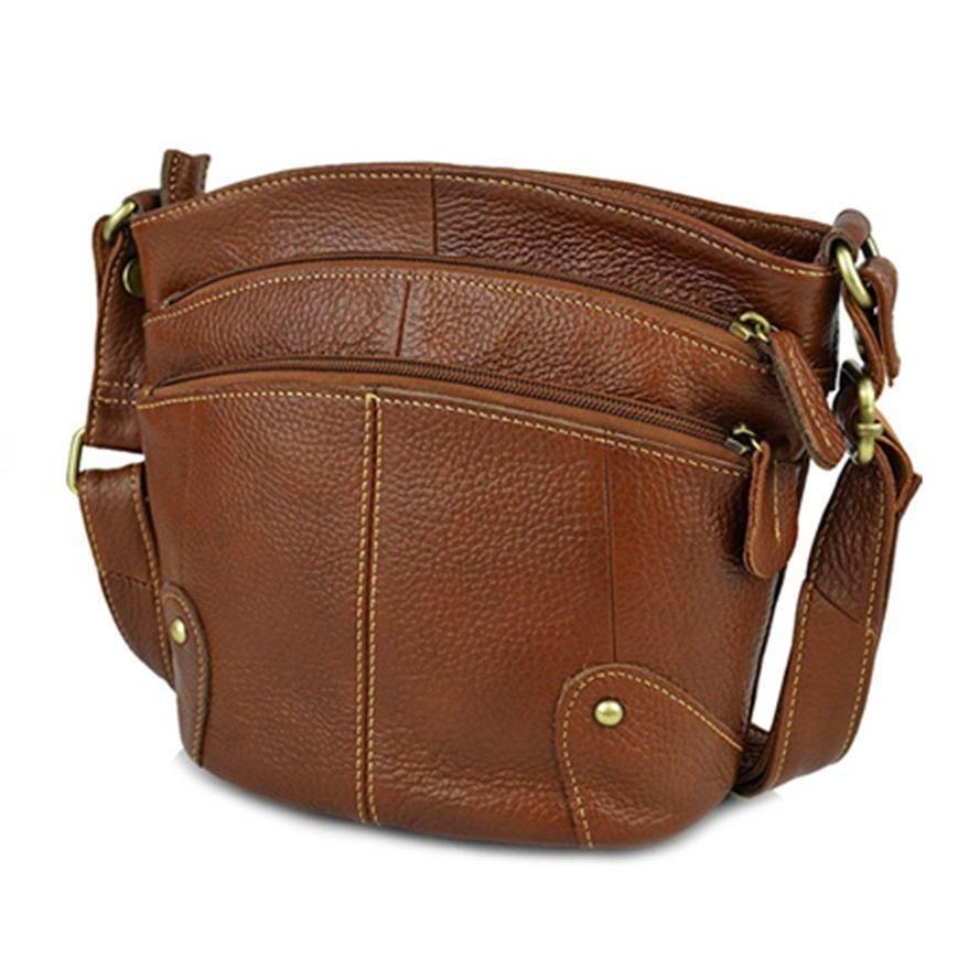 100% piel de vaca mujeres Crossbody Bag cuero genuino pequeñas bolsas de mensajero para damas Shoudler 2019 bolsa feminina bolso mujer AR01