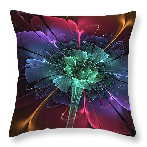 "Enchanted Throw Pillow 14"" x 14"""
