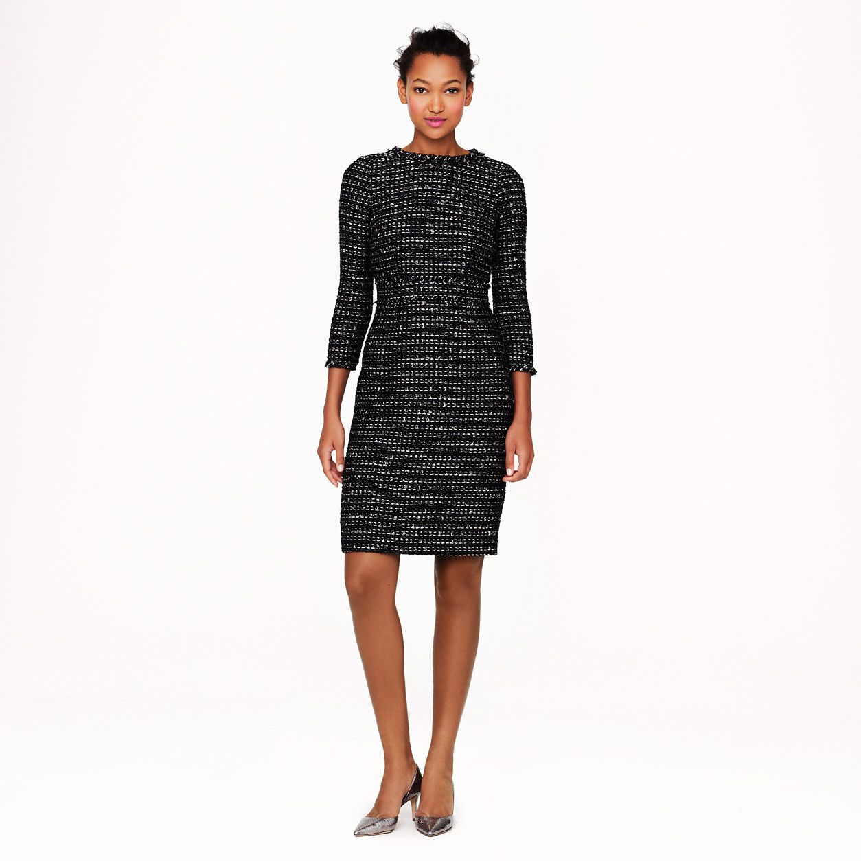 b9cf5037a9c Collection black tweed dress - dresses - Women s collection - J.Crew ...