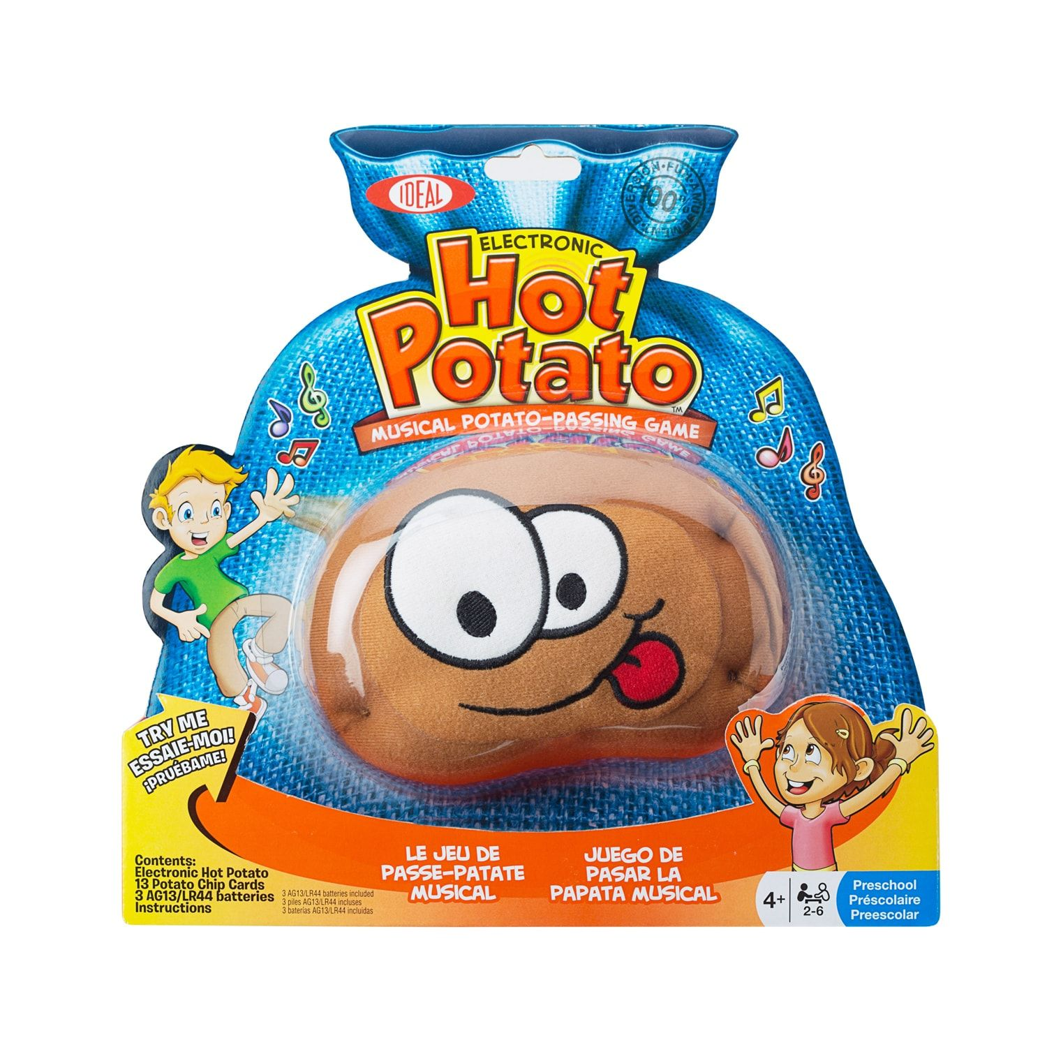 Baby Hot Potato Electronic Musical Passing Game POOF Free Shipping!
