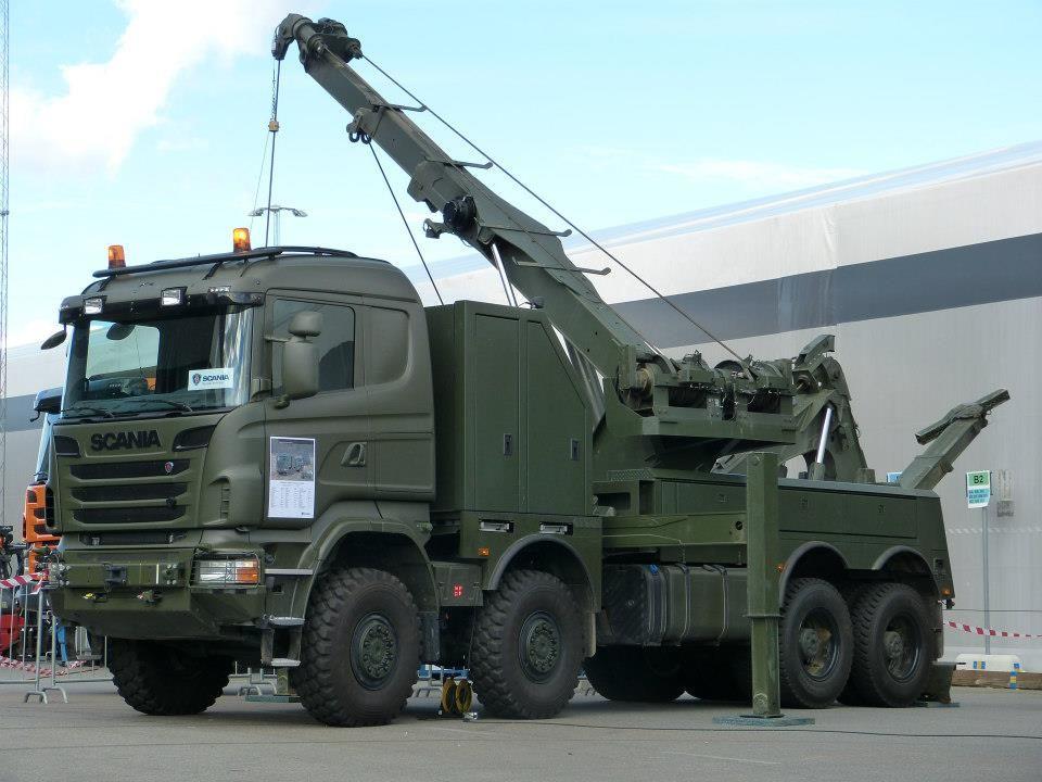 SCANIA-Military Tow Wrecker Truck (sweden army) | Wreckers, RollBacks, and CarHaulers | Trucks ...