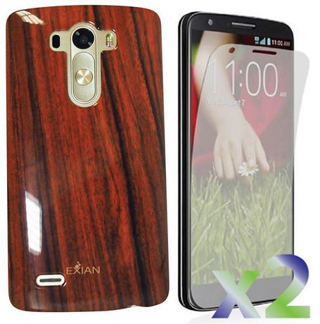 sneakers for cheap 25d3f f5dc2 Exian Case For Lg G3 - Wood Brown Brown in 2019 | Products | Lg ...